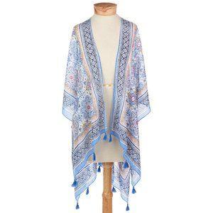 3/$20 Boho Mark and Hall Kimono